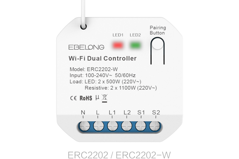 5A on/off dual controller