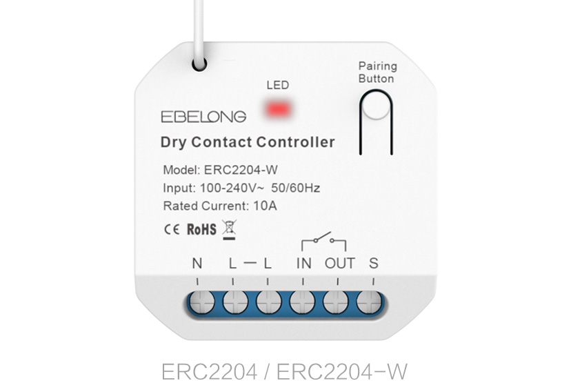 10A dry contact controller