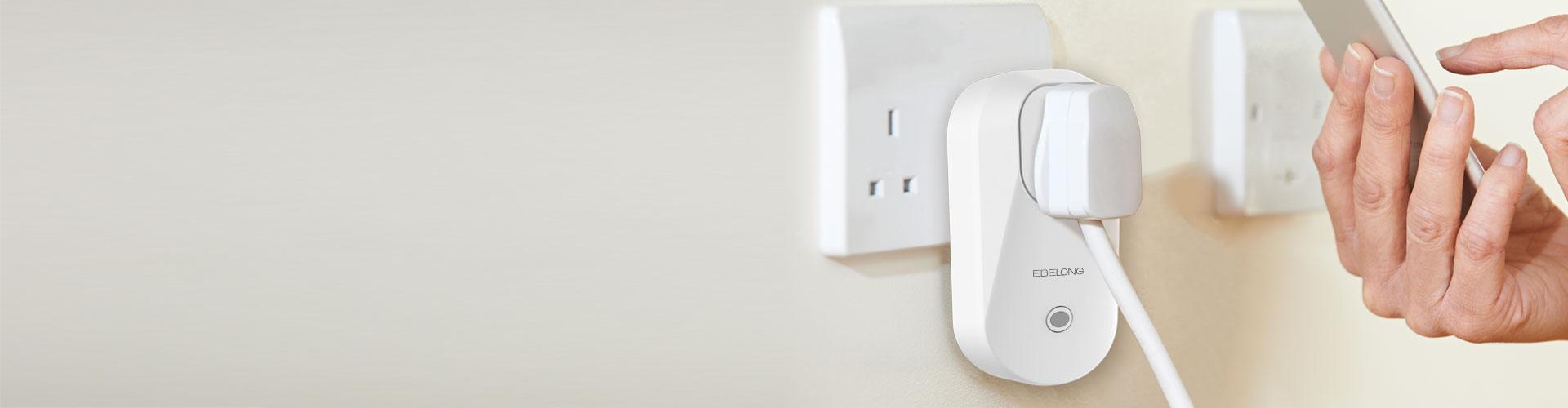 C5 UK standard 13A smart Socket Adaptor
