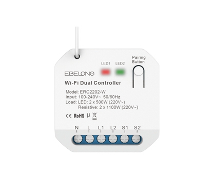 ERC22025A 2 way Wifi+on/off controller