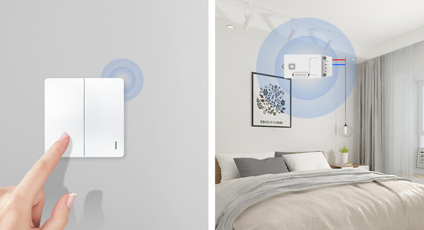 self-powered wireless switch and smart controller