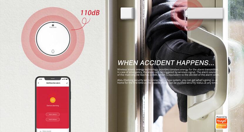 QME doorbell and door/window sensor
