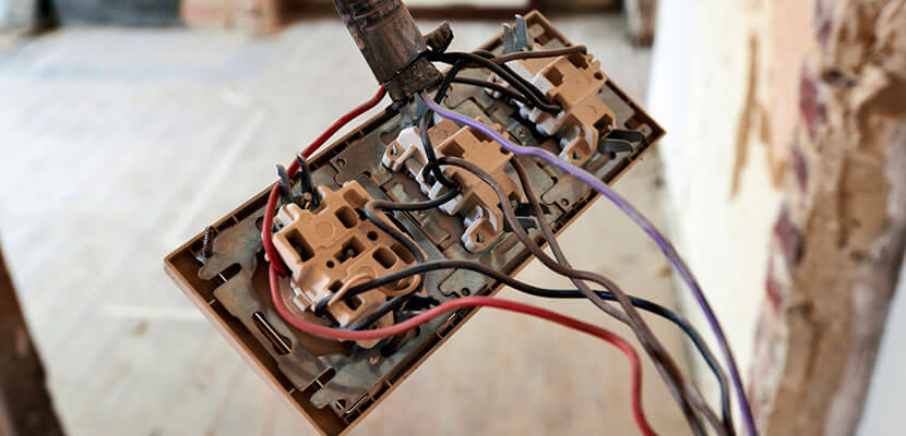 Traditional wired switch installation is complicated