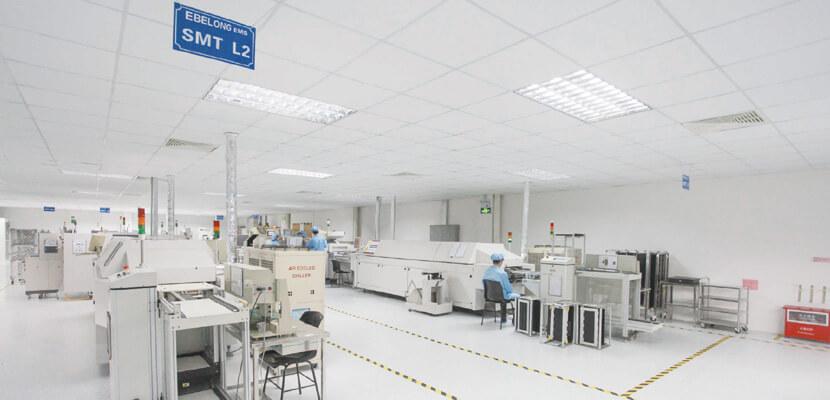 Ebelong company wireless kinetic switch production base